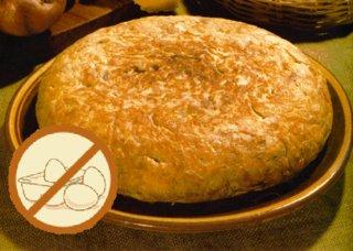 Cocina sana: tortilla de patata sin huevo
