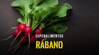 Superalimentos - El rábano
