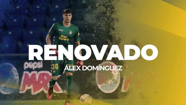 RENOVACIÓN | Álex Domínguez se queda en casa
