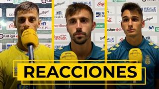 REACCIONES | Loiodice, Clemente y Cardona tras el partido ante el Burgos