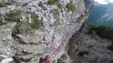Encuentro de hamacas en el monte Piana