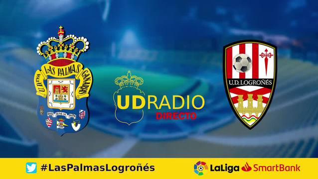 Así contamos lo contamos en UDRADIO | Las Palmas 2-1 Logroñés
