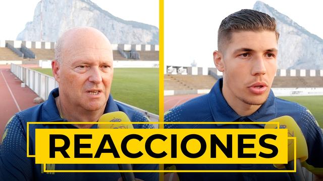 REACCIONES   Pepe Mel y Unai Veiga nos reciben tras el amistoso ante el Sevilla