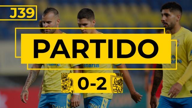 PARTIDO COMPLETO | Las Palmas - Zaragoza (0-2)