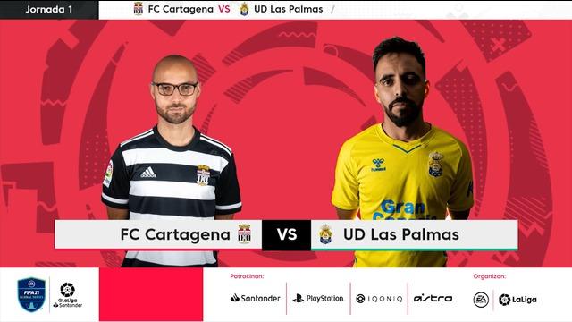 Jornada 1   Las Palmas 2-8 Cartagena