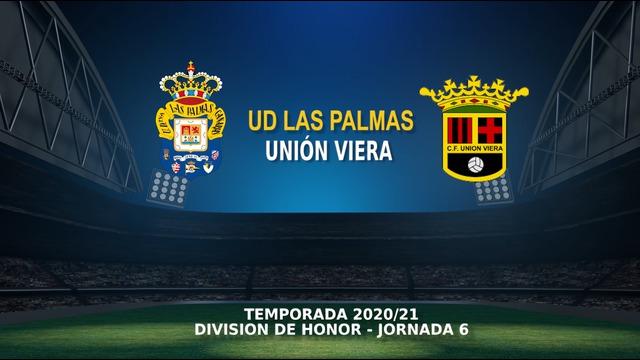 Jornada 6 | Juvenil DH - Unión Viera (2-0)