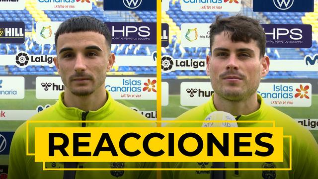 REACCIONES | Declaraciones de Rober y Sergio Ruiz tras el UD Las Palmas - Espanyol