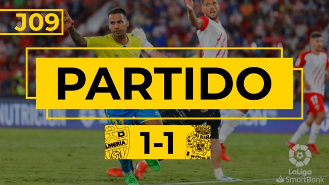 PARTIDO COMPLETO | Almería - Las Palmas (1-1)