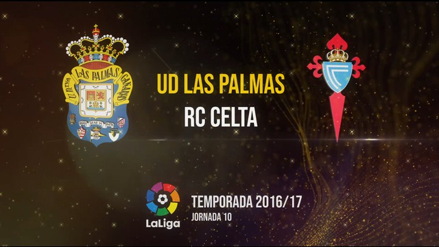 Las Palmas 3-3 Celta Temp.16/17