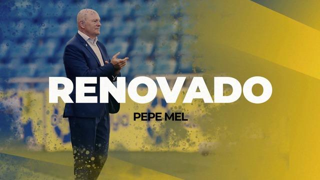 RENOVACIÓN | Pepe Mel continúa al frente del banquillo.