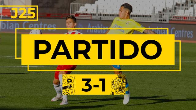 PARTIDO COMPLETO   Almería - Las Palmas (3-1)