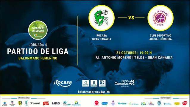 JORNADA 4 | Rocasa Gran Canaria 27-11 Adesal Córdoba