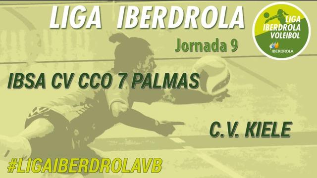JORNADA 9 | IBSA CV CCO 7 Palmas 3-2 C.V. Kiele