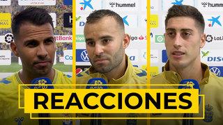 REACCIONES | Viera, Lemos, Jesé, Mel y Pejiño