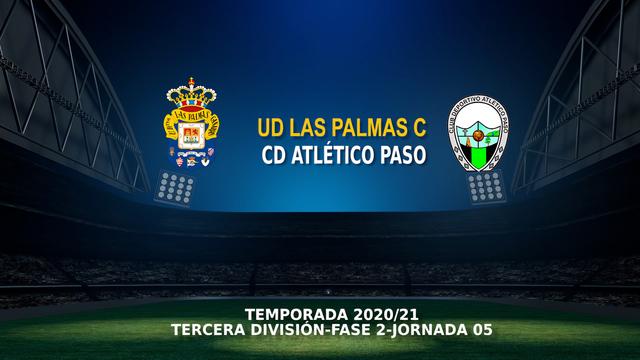Jornada 4 (Fase 2) | Las Palmas C 1-0 Atlético Paso