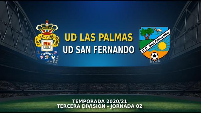 JORNADA 2 | Las Palmas C 1-3 San Fernando