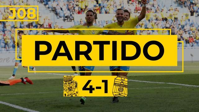 PARTIDO COMPLETO | Las Palmas - Cartagena (4-1)