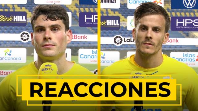 REACCIONES   Declaraciones de Sergio Ruiz y Eric Curbelo tras el UD Las Palmas - Rayo Vallecano
