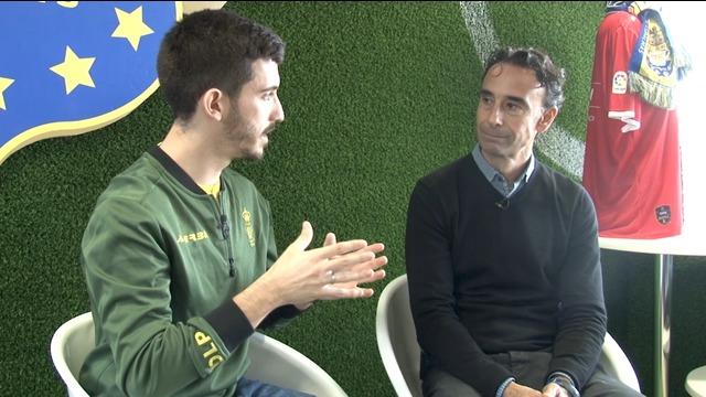 ENTREVISTA | Uno de los históricos capitanes de la UD Las Palmas, PAQUITO ORTIZ, con nuestro jugador Zidane