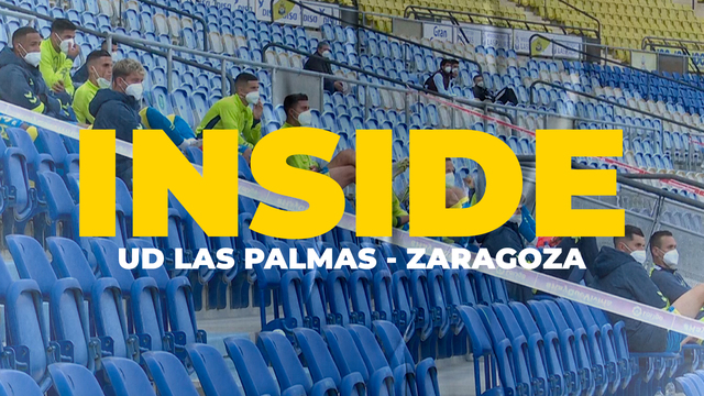 INSIDE | Partido disputado ante la Zaragoza