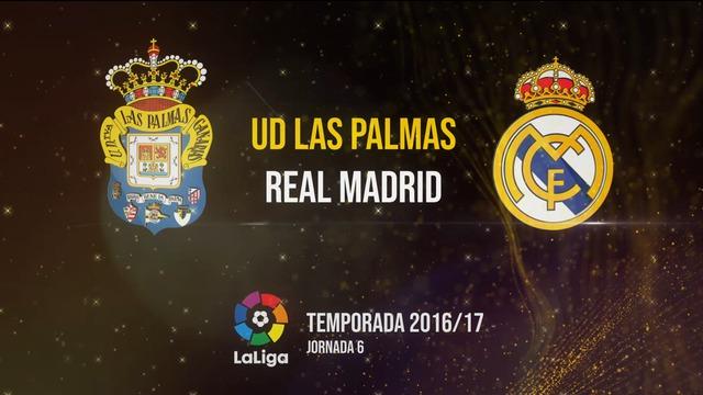 Las Palmas 2-2 Real Madrid Temp.16/17