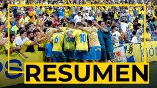 RESUMEN   Las Palmas - Tenerife (2-1)