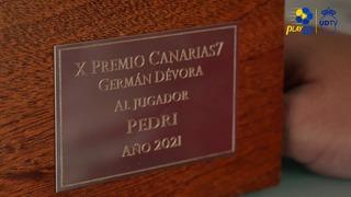 Premio Germán Dévora 2021 Canarias7 - Pedri