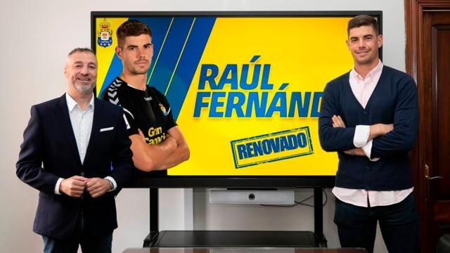 RENOVACIÓN | Raúl Fernández está de vuelta