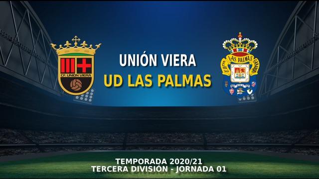 JORNADA 1 | Unión Viera - Las Palmas C (4-1)