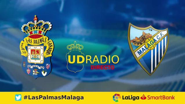 Así contamos lo contamos en UDRADIO | Las Palmas 1-1 Málaga