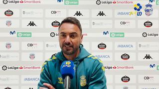 PREVIA   Momo habla momentos antes de empezar el Lugo vs Las Palmas
