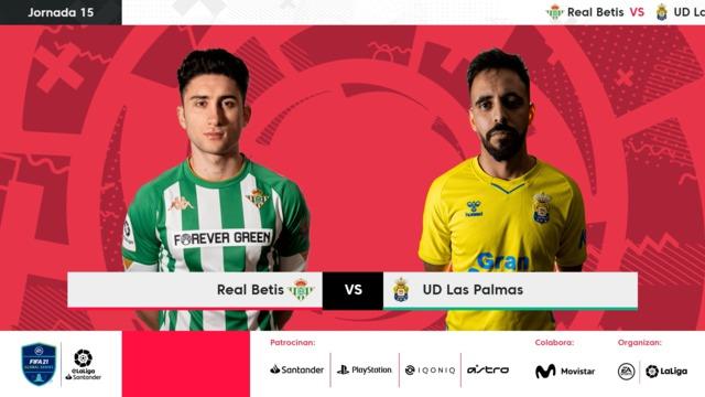 Jornada 15 | Real Betis 4-3 UD Las Palmas