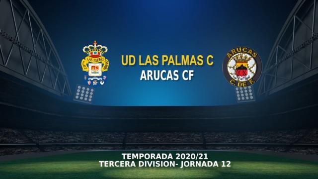 Jornada 12   Las Palmas C 1 - 1 Arucas